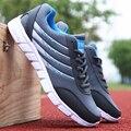 2017 Лето Мужчины Повседневная Обувь Мода Воздуха Mesh Тренеры Мужчины Холст Обувь на Шнуровке Корзина Дышащий Прогулки Zapatillas Hombre