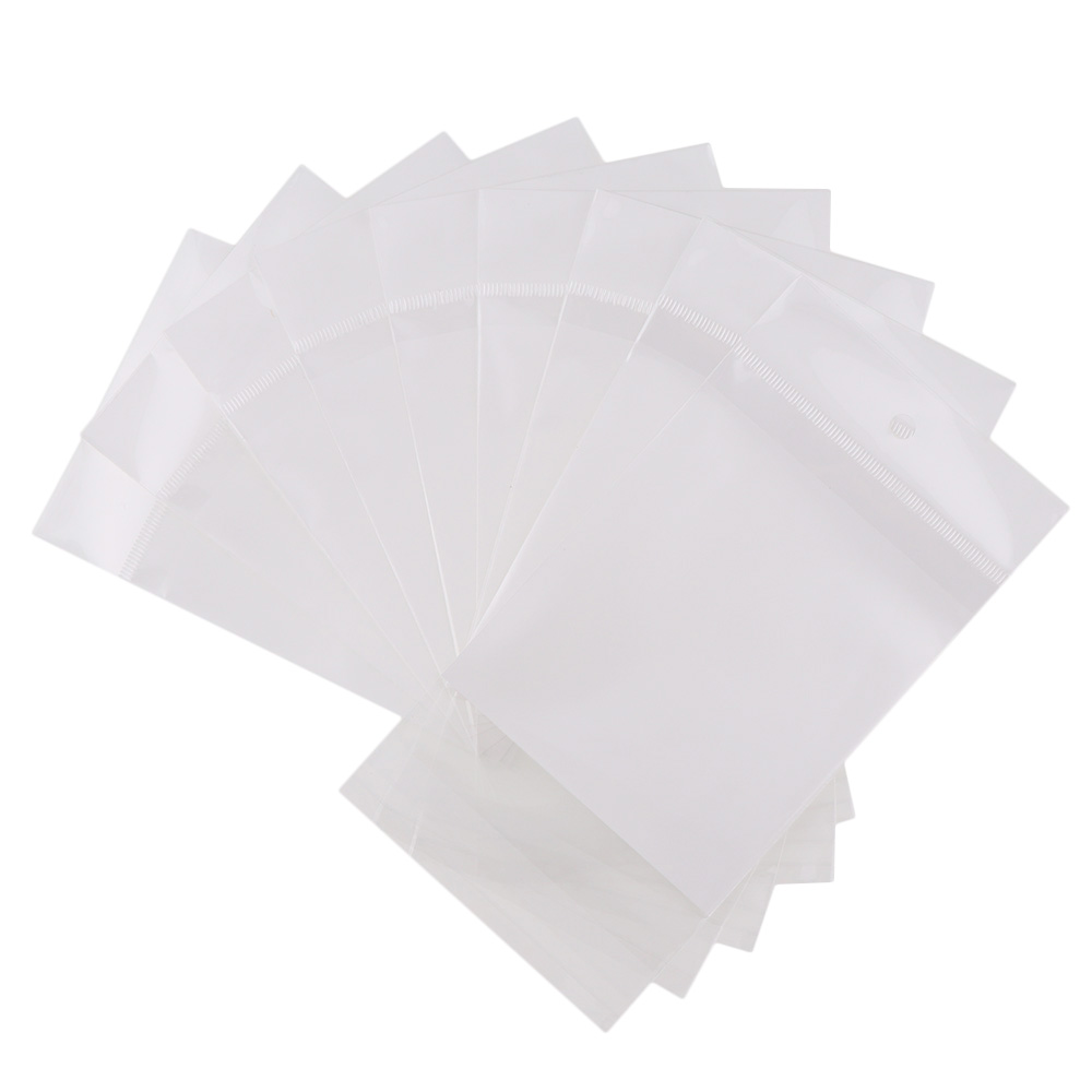 100pc/lot White/Clear Self Seal Zipper Plastic Retail Packaging Pack Poly Bag Ziplock Zip Lock Storage Bag Package Hang Hole