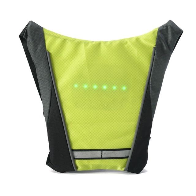Светоотражающий жилет безопасности Открытый Водонепроницаемый 30 шт. из светодиодный свет Предупреждение свет безопасности куртка сигналь...