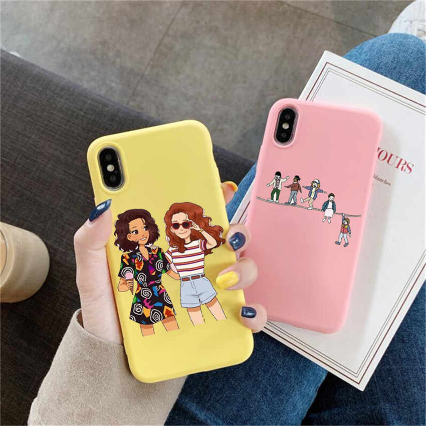 Stranger Things Season 3 Scoops Ahoy phone Case For huawei p30 p30 lite p20 pro p10 mate 20 pro 10 lite honor 9 10 lite CASES
