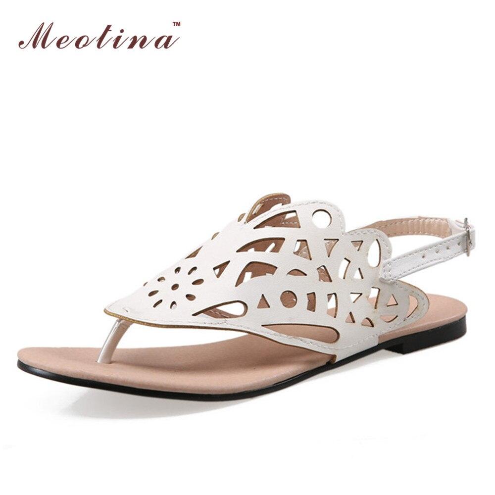 Womens sandals in size 12 - New Women Sandals Thong Shoes Flip Flop Flat Sandals Causal Cutout Beach Shoes Ladies Sandals Gold