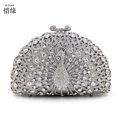 Online Get Cheap Peacock Crystal Clutch -Aliexpress.com | Alibaba ...