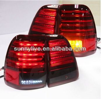 Land Cruiser LC100 4700 FJ100 LED Tail Lamp 1998-2007 Year Red Black Color