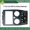 Actualizado Original Traje de Jugador de Radio Del Coche para Nissan Qashqai Reproductor de Vídeo Del Coche Construido en WiFi Gps Bluetooth
