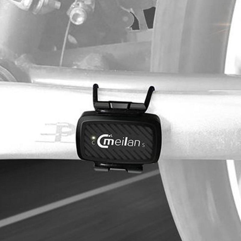 Bicycle Wireless Stopwatch Bike Computer Speedometer Counter Odometer Meilan C1 Cycling Cadence Sensor Fitness Bluetooth 4.0/IOS sunding bluetooth 4 0 waterproof wireless combo cadence sensor
