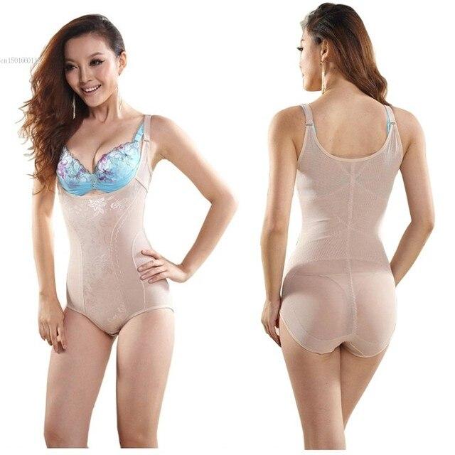 c6f82f8224b68 Tummy Suit Control Girdler Underbust Slimming Underwear Shapewear Cincher Full  Body Shaper 2 Colors M-