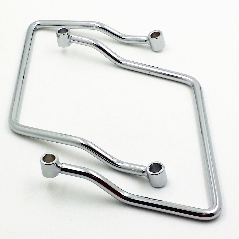 21cm Luggage Saddlebag Support Bar Bracket For Kawasaki Honda Suzuki Yamaha C50 M50 VL