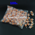 New 100pcs Universal Gas Oil Fuel Filter 50cc 70cc 90cc 110cc 150cc 250cc China Atv Dirt bikes Go Karts, Scooters FREE SHIPPING