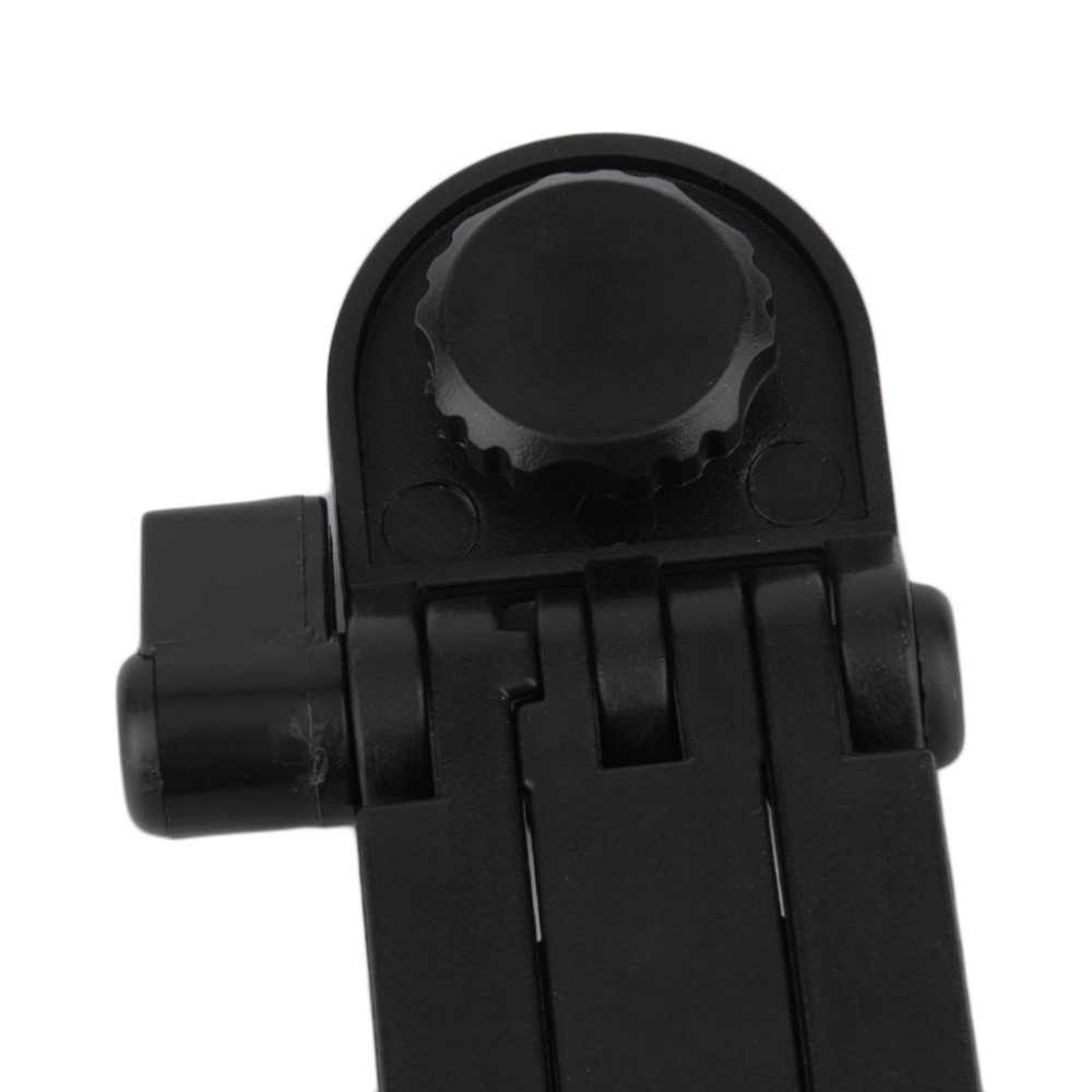 Mini Portabel Plastik Foldable Fotografi Tripod Meja Meja Berdiri Mounting Bracket untuk Kamera Camcorder DSLR SLR Hitam Baru