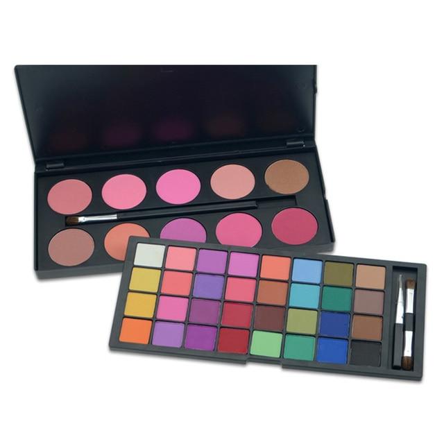 New Full 42 Color Eyeshadow Blush Makeup Set For 2016 Women Eye Make Up Eyeshadow Cosmetic makeup Kit Set