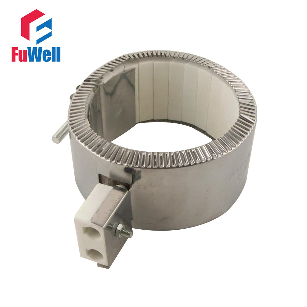 100mm x 110mm 220V 1700W Ceramic Heating Band Heater for Injection Machine 220v 240v reptile aninal ceramic heater pet heating lamp 50w