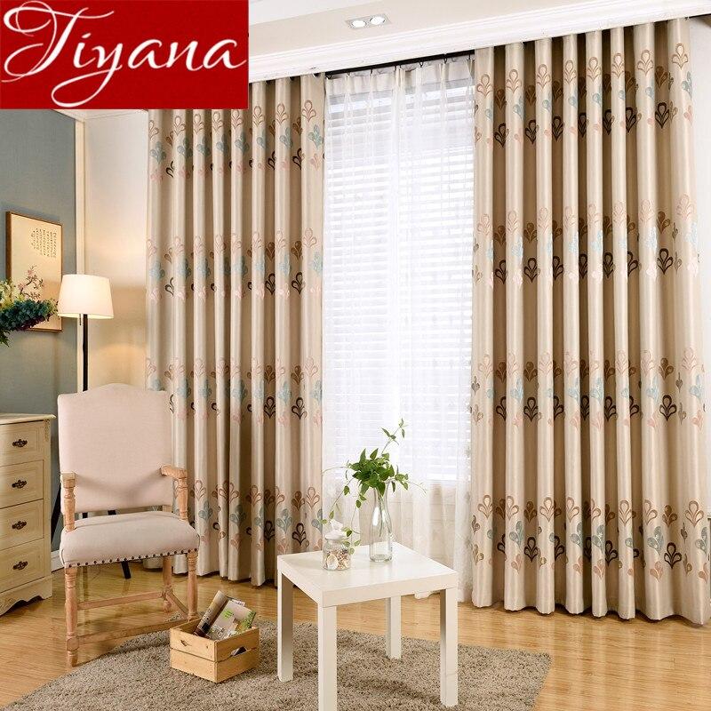cortinas jacquard de color beige ventana cortinas moderna sala de estar dormitorio cortina cortina cortinas telas