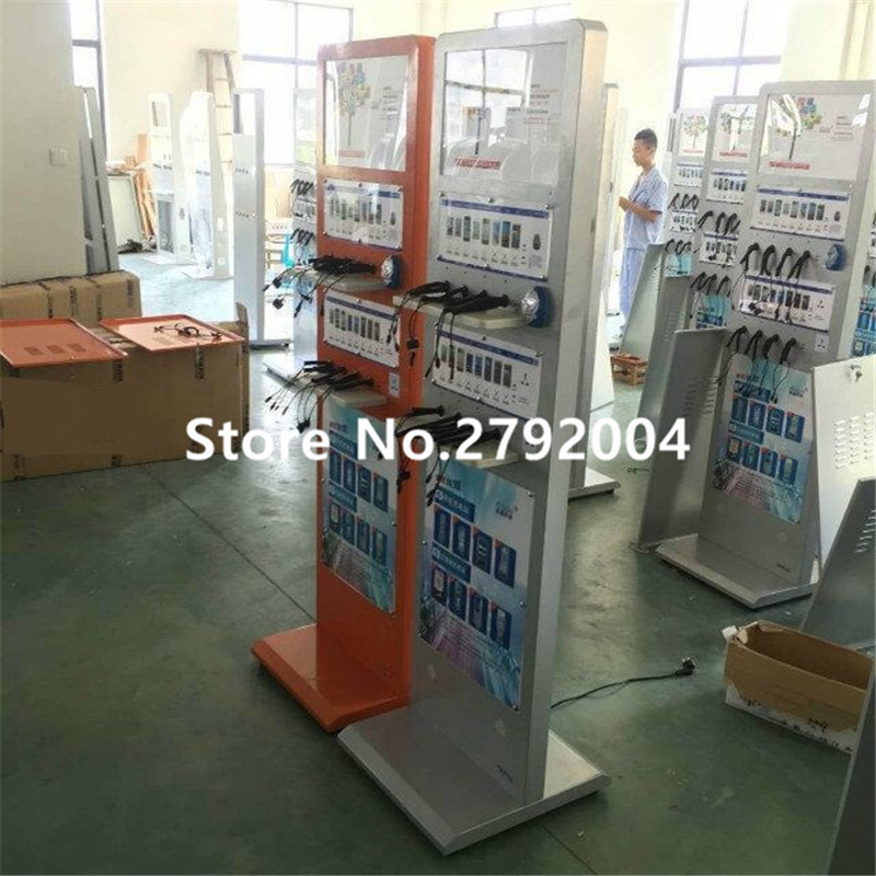 купить Mobile phone charging station, vertical mobile phone charging station, convenient emergency charging station недорого