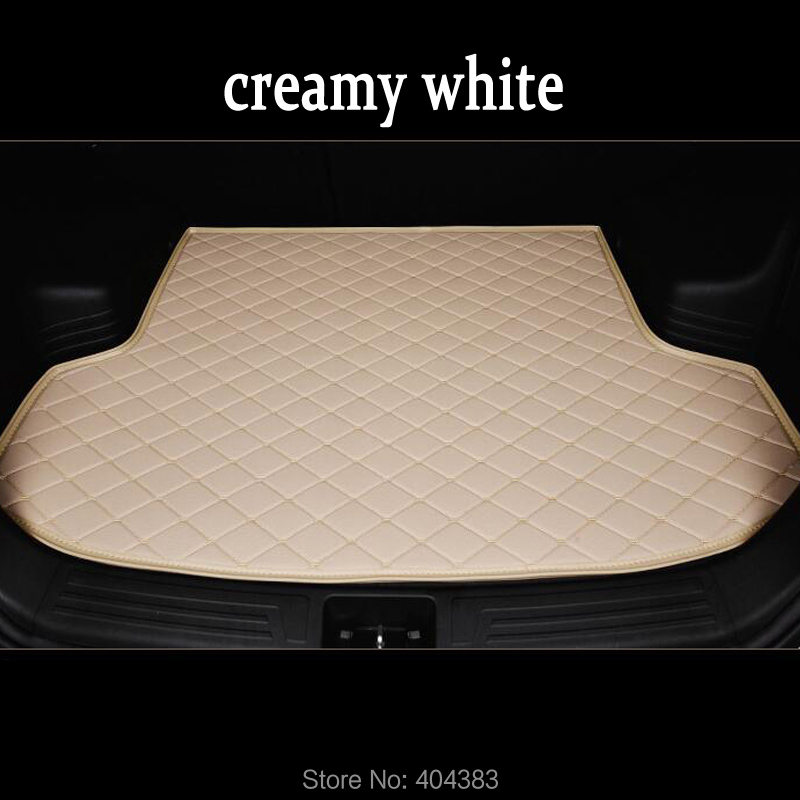 free shipping fit car trunk mat for Volvo C30 S60L S80L V40 V60 XC60 XC90 3D car styling heavy duty tray carpet cargo liner
