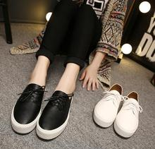 2016 new Woman Flats Summer Style Woman Round Toe Flats Soft Leather Shoes Woman Fashion Loafers Shoes Woman