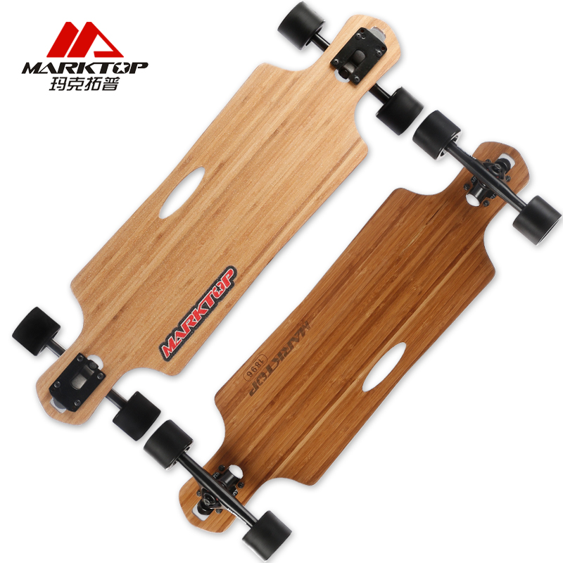 MARKTOP 8 25 31 Pro road dancing complete longboard made by 5layers bamboos quality warranty for