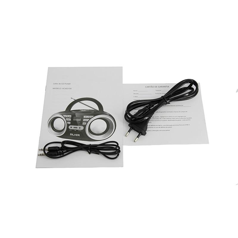 LONPOO Նոր CD բարձրախոս Mini Mini դյուրակիր - Դյուրակիր աուդիո և վիդեո - Լուսանկար 6