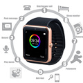 Mi часы | smart watch gt 08 спорт Smart Watch Cell Phone Фитнес-Трекер Bluetooth Наручные Часы с Камерой для Смартфонов