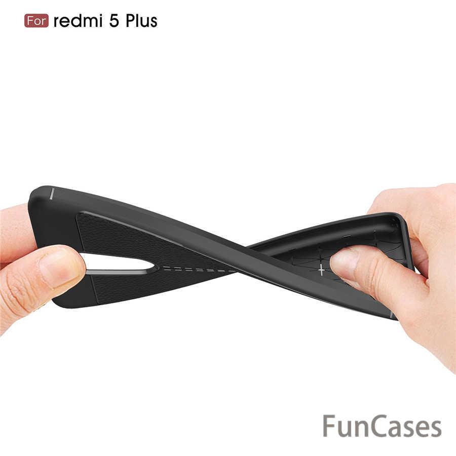 Чехол для Xiaomi Redmi 5 Plus роскошный кожаный TPU силиконовый чехол для телефона для Xiaomi Redmi 5 Plus чехол для Xiaomi Redmi5 Pro