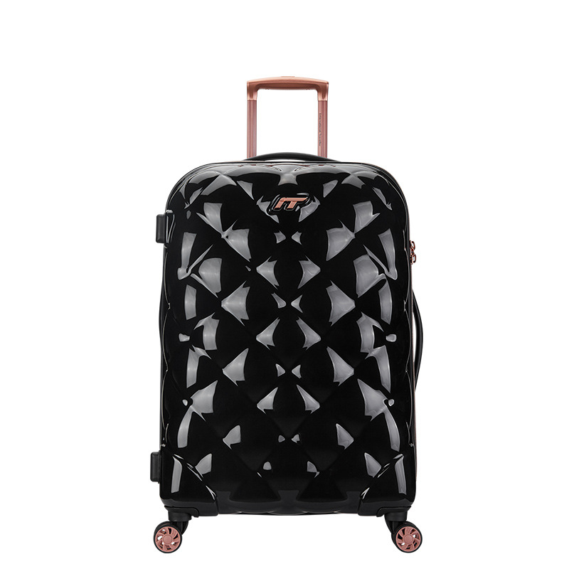 16f30002b Letrend Britain Spinner Rolling Luggage Ultralight Trolley Students  Suitcases Wheels Lozenge Travel Bag Trunk -in Suitcases from Luggage & Bags  on ...