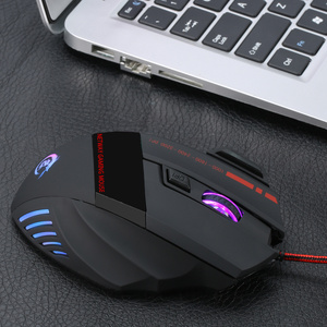 Image 3 - HXSJ A907 Adjustable 5500DPI Professional USB Wired Optical 7 Buttons Self defining Gaming Mouse for Desktop Laptop Netbook