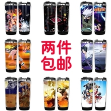Naruto Models Double Insulation Plastic Stainless Steel Mug (225 styles)