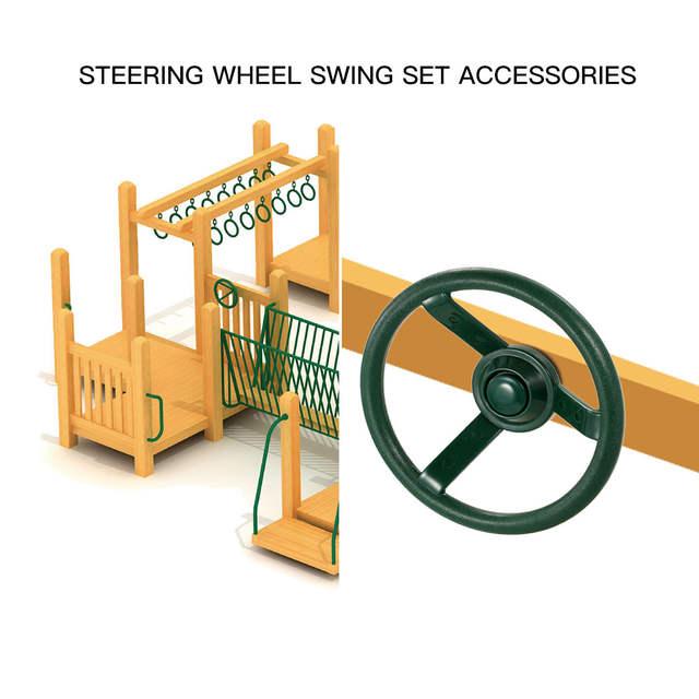 Online Shop Plastic Steering Wheel Swing Set Accessories For Wood