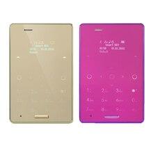 Новичок 5.8 мм ультра тонкий AIEK M4 мини Touch карты мобильного телефона Dual Sim Симпатичные карман телефон low radiation Для детей в наличии