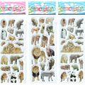 3 шт./лот Маленькие Мальчики Девочки Детские Наклейки Мультфильм Aninals Kawaii Подарки набор Принцесса Красивые Игрушки Развивать Интеллект # ST015