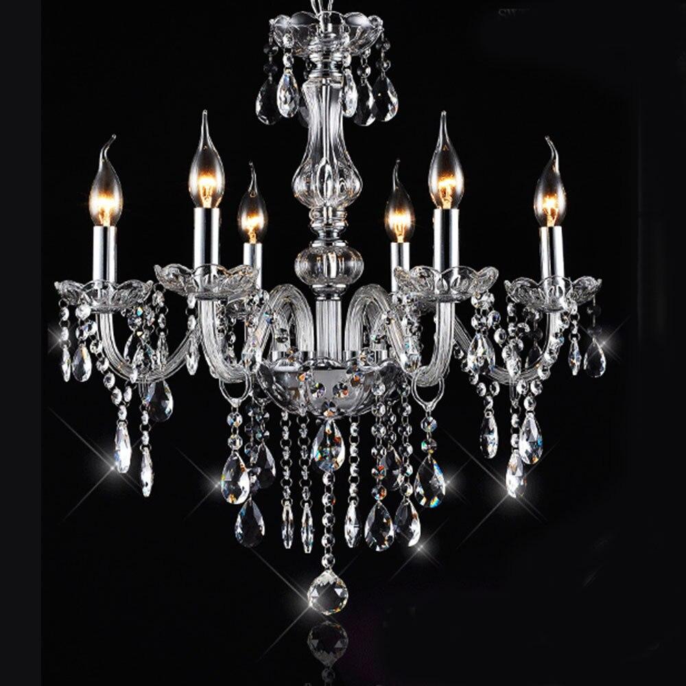 lujo lmparas modernas mano cristal soplado araa lmpara de cristal del lustre de cristal lampadas led