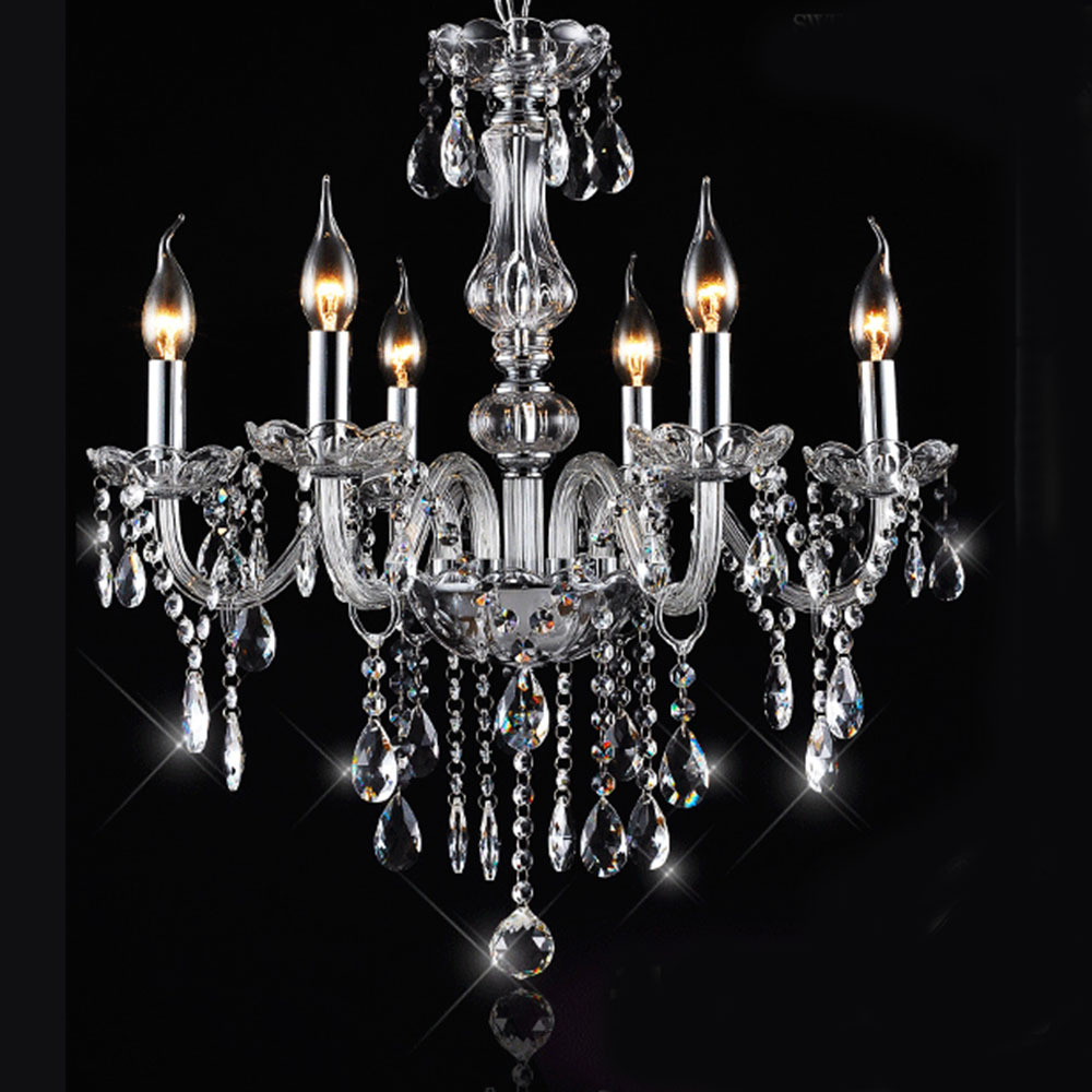 Luxurious Modern Chandeliers Hand Blown Crystal Chandelier Lamp Cristal Lustre De Cristal Lampadas LED Ceiling Lamp