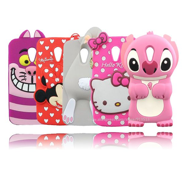 pick up f1d77 bc5e1 US $2.99 |For Motorola Moto G2 Case Cover Cute Hello Kitty Minnie Mouse  Stitch Rabbit Unicorn Phone Back Cases For Moto G2 XT1068 XT1069-in ...