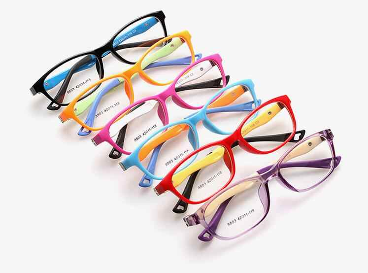 75802693ae Kids Optical Frame Children Glasses Girls Optical Frame Transparent Prescription  Flexible TR Oculos de Sol Infantil