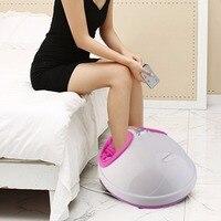 220V Electric Antistress Heating Therapy Shiatsu Kneading Foot Massager Vibrator Foot Massage Machine Foot Care Tool