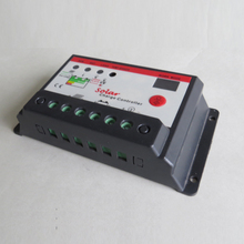10A 12V 24V Solar system Charge Controller,10Amps lamp Regulator Timer for LED street lighting or solar home system