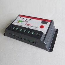 Controlador de Carga do Sistema Temporizador para Iluminação Solar em Casa 10A 12 V 24 Solar 10 Ampères Lâmpada Regulador Pública LED OU Sistema