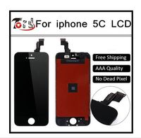 100 Guarantee Replacement IPhone 5c LCD Digitizer Screen Original For IPhone 5c LCD Display Black 10PCS