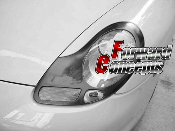 POUR 996 911 BOXSTER 986 PHARES COUVRE PAUPIERES MIC
