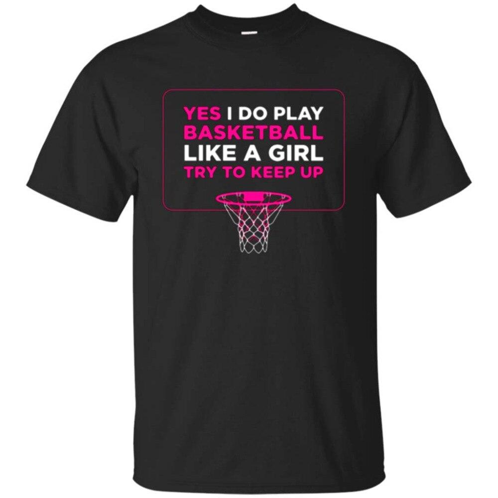 Играть как девочка футболка-Для женщин обручи Баскетболисту футболка