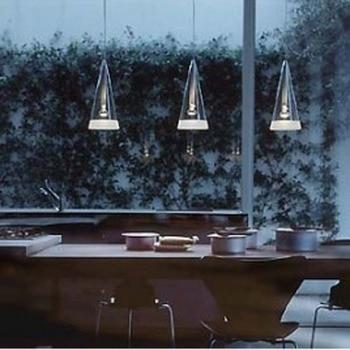 Modern brief single-head fucsia pendant light wind chimes restaurant lamp bar lamps 1025 - 1