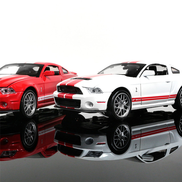 1 32 Alloy Toy Car Models Ford Mustang Gt Coupe Kids Baby Toys For Children Collection Home Decoration
