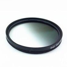 Círculo graduado Gradual gradiente gris Filtro de lente de Color 40,5 46 49 52 55 58 62 67 72 77mm 77mm 72mm 67mm 58mm 52mm 49mm