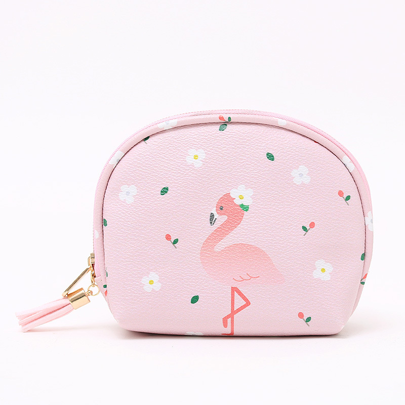 Fresh Cartoon Cute Coin Wallet Purse Wamen Bag Tassel Small Key Card Pouch Money Bag Coin Holder Wallet Makeup Bag Gift