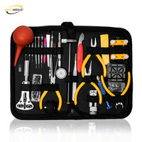 KINGBEIKE Professional Watch Tools Set Clock Repair Tool Kit Opener Link Pin Remover Set Spring Bar Watchmaker Tools
