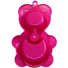Cute, colorful dog water fountain-bowl / food feeder