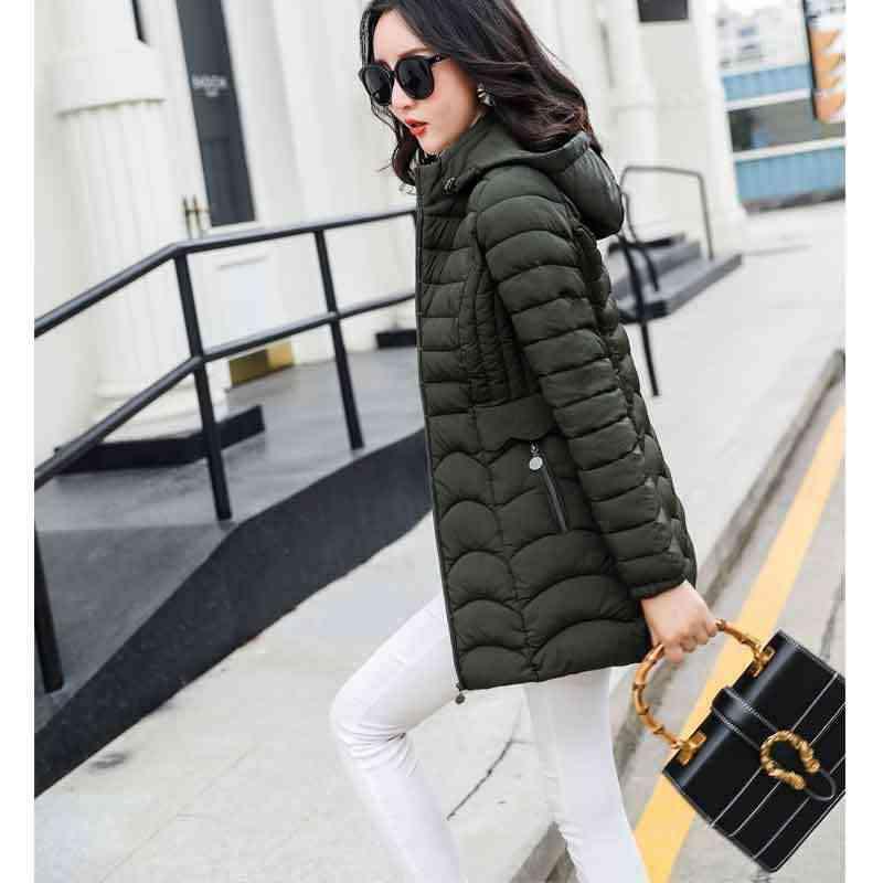 2019 Venta caliente chaqueta con capucha de invierno para