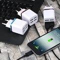 Новые Три Цвета 4 Порта USB Путешествия Зарядное Устройство Multi, Адаптер Питания Пакет ЕС Plugest, оптовая и Горячей продажи в 2016 году!!!