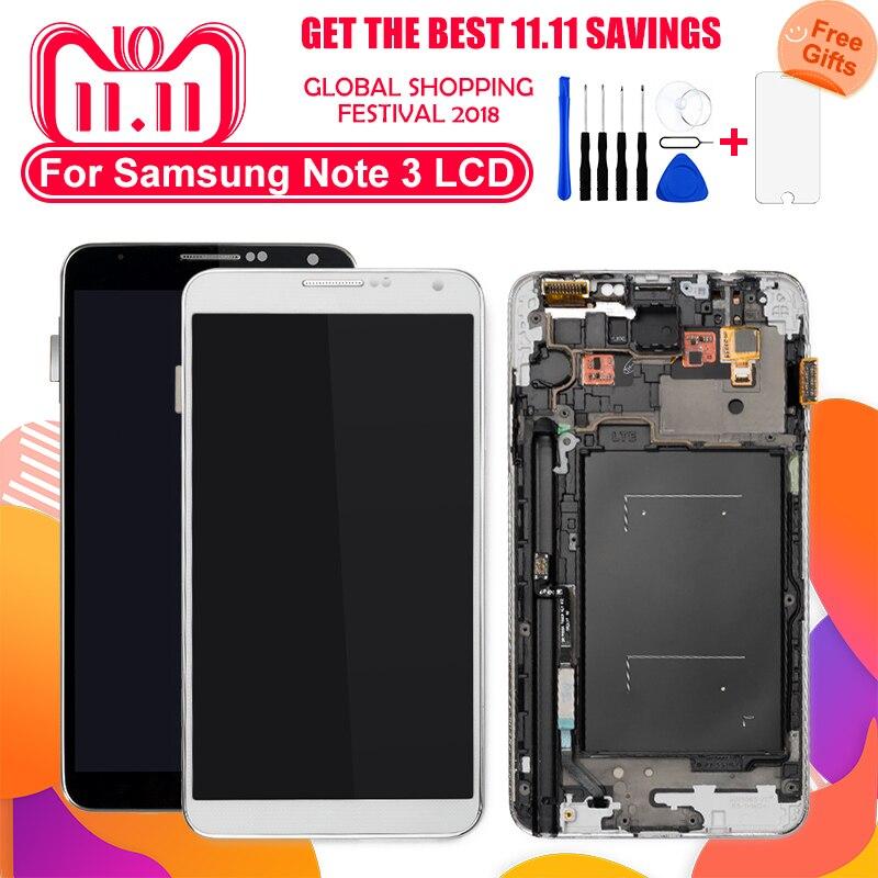 100% getestet LCD Display Für Samsung Galaxy Note3 N9005 N900A N900T N9000 LCD Display Touchscreen Digitizer Montage Ersatz