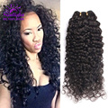 Mink Brazilian Curly Virgin Hair 3Pcs Brazilian Virgin Hair Deep Wave Vip Beauty Kinky Curly Virgin Hair Human Hair Weave Curly