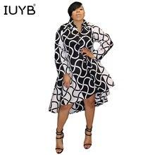 IUYB 2019 Hot Sale Mature Elegant Sexy Style Women Dress Retro Plaid Full  Sleeve Chiffon Bodycon f16cc31c216f